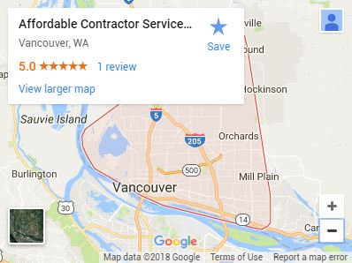 Affordable Contractor Services LLC on Google Maps